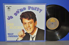 Billy Sanders così una festa della rocker D Bear FAMILY'79 VINILE LP cleaned TOP!