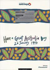 Collector Folder 1994 Australia Day Telecom Phonecard Limited Edition
