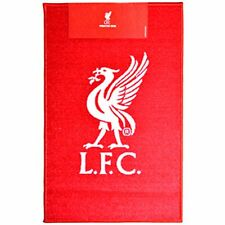 Liverpool Printed Crest Rug New Sport Football Bedroom Lounge Gift Birthday