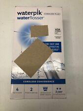 WATERPIK  WATER FLOSSER CORDLESS PLUS WP-450W (SEE DESCRIPTION)