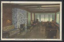 Postcard BINGHAMTON New York/NY  Kalurah Golf Country Club Smoking room 1920's