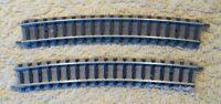 Fleischmann  9131  (Spur N)  2 Stück gebogenes Gleis  R3 - geprüft  Auktion 7