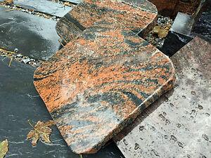 Gedenktafel Grabstein Granit Naturstein Liegeplatte Liegeplatte Sockelplatte NEU