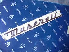 MASERATI  Schriftzug  Emblem  ORIGINAL  Quattroporte neues Modell - ab 2013 NEU