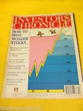 INVESTORS CHRONICLE - SPOT WONDER STOCKS - MAY 19 1995
