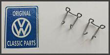 VW MK2 Golf - Genuine OEM - Handbrake Cable To Caliper Clips 2 Pcs- Brand New!!