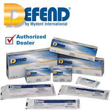 """Defend Sterilization Pouches 200 box  2 1/4"""" x 4"""" TATTOO 2.25"""" x 4"""" POUCH USA"""