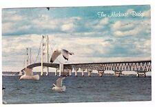 The Mackinac Bridge- Michigan-Postcard