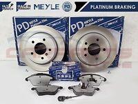 FOR VW PASSAT 3C2 3C5 1.4 1.6 1.8 FRONT MEYLE BRAKE DISC DISCS PADS SET 05-10