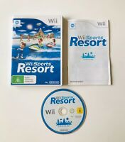 Wii SPORTS RESORT Nintendo Wii PAL *Wii motion plus required * #buyfromthebush
