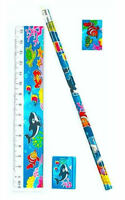 6 Sealife Stationery Sets - Pinata Toy Loot/Party Bag Fillers Wedding