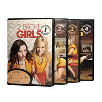 2 Broke Girls TV Series Season 1-4 12 DVD SET Seasons One, Two 2, Three 3, Four