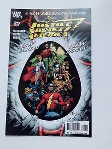 Justice Society of America #29, Vol. 3 (DC Comics, 2009 DC) VF/NM