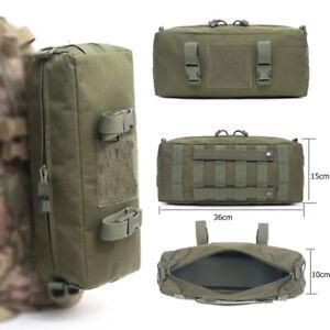 Tactical Backpack Molle Sling Bag Hiking Sports Storage Pouch Shoulder Bag Green