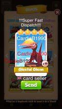 X1 Gleeful Glenn Coin Master trading card !!!Super Fast Dispatch!!!