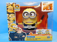 Despicable Me 3 Deluxe Talking Jail Time Tom Minion New! Sounds