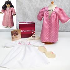 American Girl Pleasant Company Samantha NIGHTGOWN KIMONO & SLIPPERS Pajamas Robe