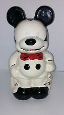 Vintage 1940's Walt Disney Mickey And Minnie Mouse Turn About Cookie Jar