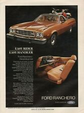 1973 Ford Ranchero - The Pickup Car - Vintage Ad