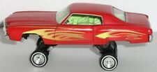 Cool HOT WHEELS / 1970 70 CHEVY MONTE CARLO = LOWRIDER / Rubber Tire Muscle Car
