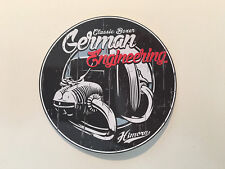 Classic Boxer Sticker / Werkstatt Garage Sicherheit Tank Rund Motor Motorrad