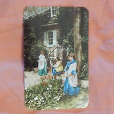 Vintage Postcard Delaware's Colonial Glories With 3 Public Events, Dover