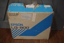 RARE Vintage Epson LQ-800 Dot-Matrix Impact Printer