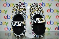 Crocs Adults' Classic Lined Leopard Print Clogs 206559-92V Men 5/Women 7 NWT