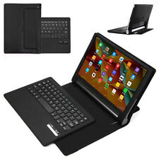 """Removable Bluetooth Keyboard Leather Case Stand Cover For Lenovo Yoga 3 Pro 10"""""""