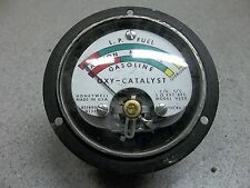 Honeywell LP Fuel OXY Catalyst Gauge 821890.0134 *FREE SHIPPING*