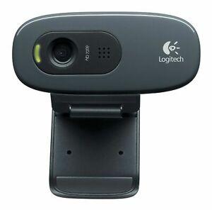 WEBCAM LOGITECH C270 MICROFONO HD 720P 30 FPS 1280X720 960-001063 FLUID CRYSTAL