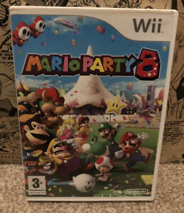 Mario Party 8 - Nintendo Wii - pal version With Instructions CIB