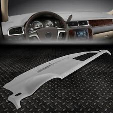 For 07 14 Chevy Tahoe Suburban Yukon Dash Board Cap Dashboard Cover Overlay Grey Fits 2007 Chevrolet Suburban 1500