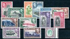 CEYLON 1938 230-242 * mit 230-231A * (K9345