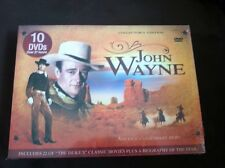 John Wayne America's Legendary Hero 10 Disc Set 22 Movies Westerns Free Shipping