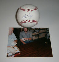 2011 BREWERS Shaun Marcum signed MLB baseball AUTO Starting Pitcher Autographed