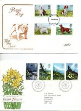 1979 Dogs to Christmas First Day Cover Year Set of all 9 Covers