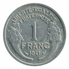 1 Franc Morlon Aluminium 1941