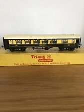 Tri-ang TT Gauge T.185 Pullman 1st Class Kitchen Car Eagle with seats - Orig box