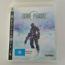 LOST PLANET Extreme Condition PlayStation 3 Game PS3 Pal Capcom