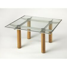 Butler Cirrus Glass & Metal Cocktail Table, Multi-Color - 3782140