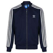 Adidas Originals Trefoil Superstar chaqueta de Chándal - azul marino L