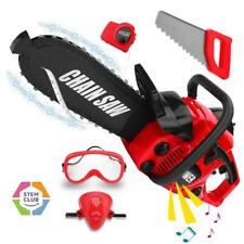 Kids Toy Chainsaw Pretend Play Boy Gift Toddler Tool Indoor Outdoor Gift New