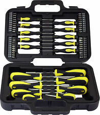 58pc Destornilladores En Funda Kit de herramienta Broca Torx Phillips Precision Ranurados Garage