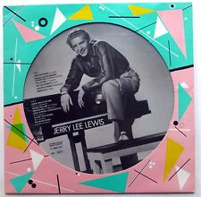 JERRY LEE LEWIS Picture Disc LP AR 30015 Great Balls of Fire ROCK N ROLL   Lc359