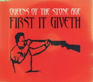 Queens of The Stone Age(CD Single)First It Giveth CD 2-New