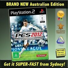 Pro Evolution Soccer 2012game for PS2 NEW PES 12 Top football jersey ball boots