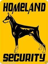 30 Doberman Pinscher Aluminum Dog Signs 9 X 12 2 For One Price