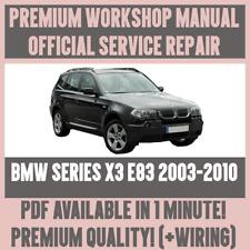 buy bmw x3 car service repair manuals ebay rh ebay co uk owner's manual bmw x3 2007 bmw x3 owner's manual 2018