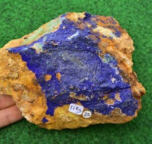 Large Azurite Malachite Crystal Mineral Raw Chrysocolla Gemstone Free P&P✔ #25
